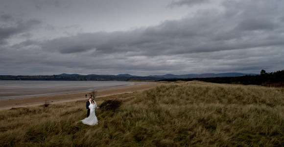 Amanda & Shaun on Murvagh beach