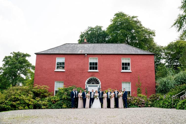bridal party in the Glebe gallery,