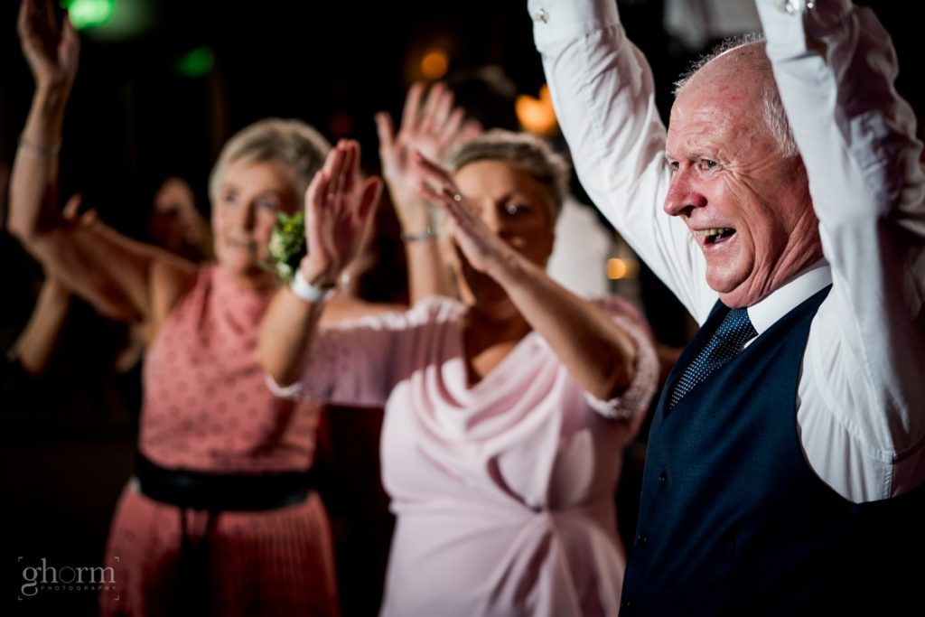 dancing at a wedding in harvey's point, bride and groom in donegal best wedding venue, harvey's point hotel on the shore of Lough Eske, Ghorm Studio Photography, donegal, sligo and leitrim wedding photographer