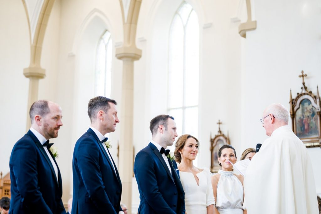 the church, Lough Eske castle wedding, Autumn 2019, best wedding venue, photo by Paul McGinty from Ghorm studio photography, Donegal Town, Ireland