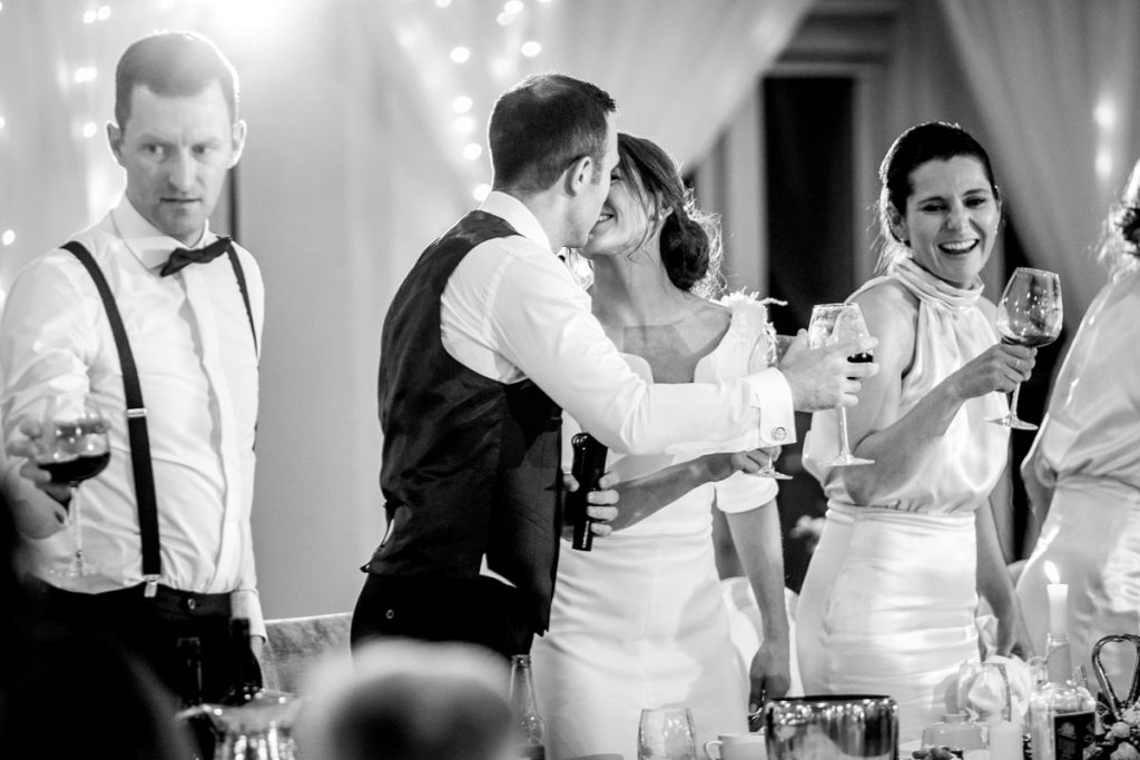 the speeches, Lough Eske castle wedding, Autumn 2019, best wedding venue, photo by Paul McGinty from Ghorm studio photography, Donegal Town, Ireland